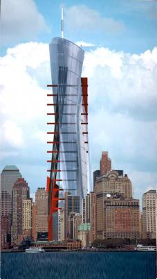 HANS STREITNER ARCHITEKTEN, HSA - GROUND ZERO, New York City - Tower - Tower
