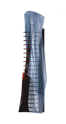 HANS STREITNER ARCHITEKTEN, HSA - GROUND ZERO, New York City - Tower - D-T021