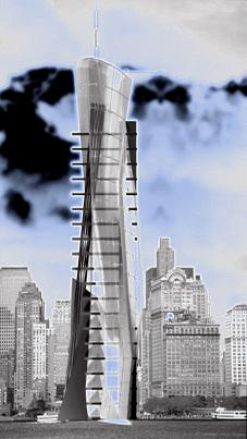 HANS STREITNER ARCHITEKTEN, HSA - GROUND ZERO, New York City - Tower - D-T030